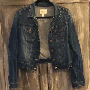 Jessica Simpson blue jean jacket